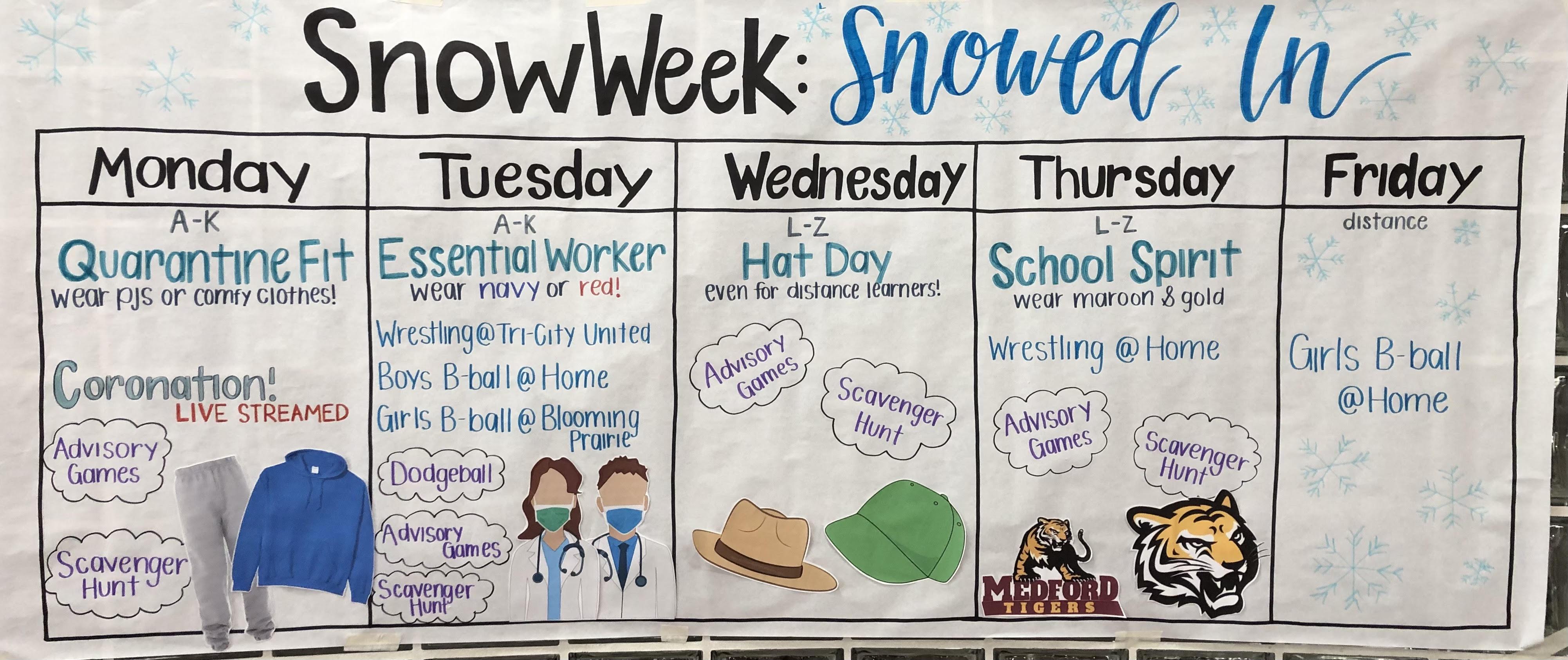 Snow Week 2020-2021